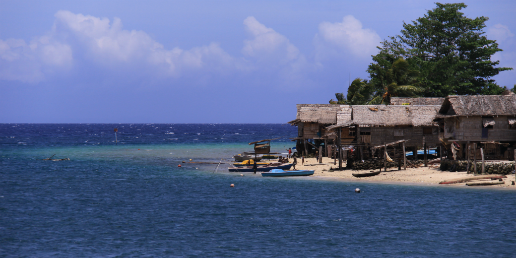 The Solomon Islands is a place where sea levels are rising three times faster and higher than the global average.