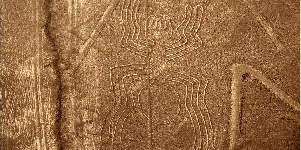 Nazca lines in Cusco Peru