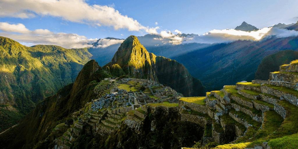 Trek the Inca Trail through the Andes mountains in Cusco Peru