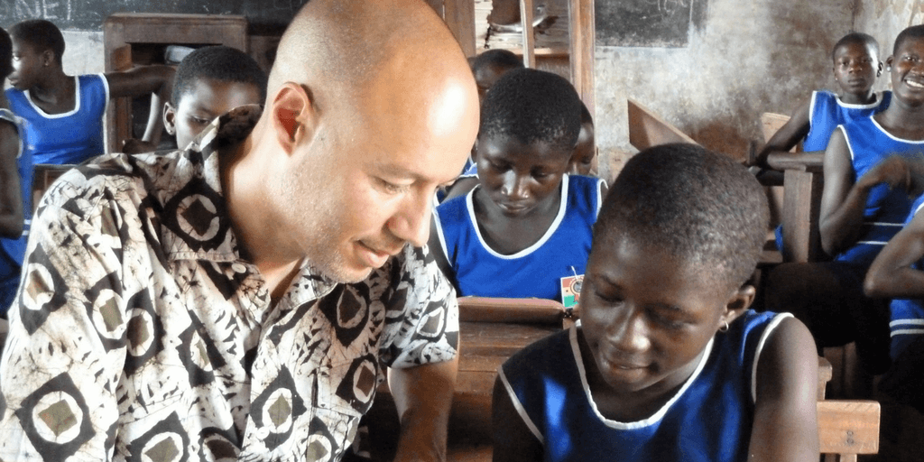 Teaching Children In Ghana