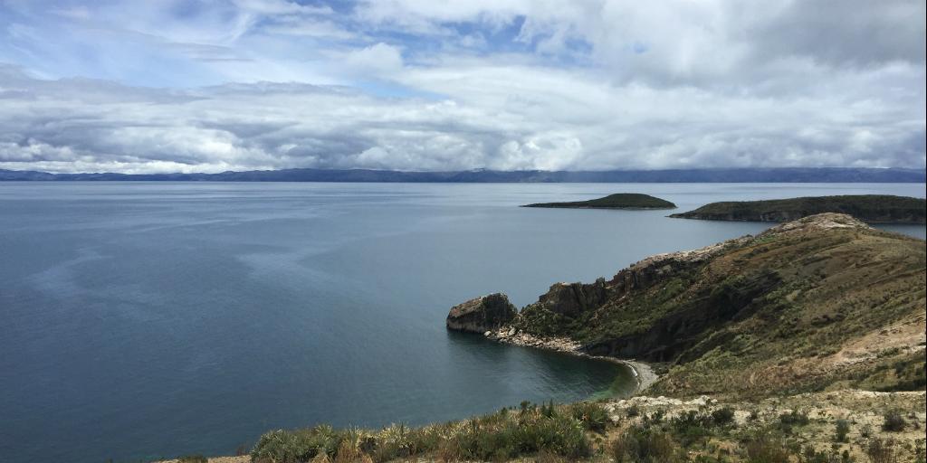 Visit lake titicaca when you volunteer in peru