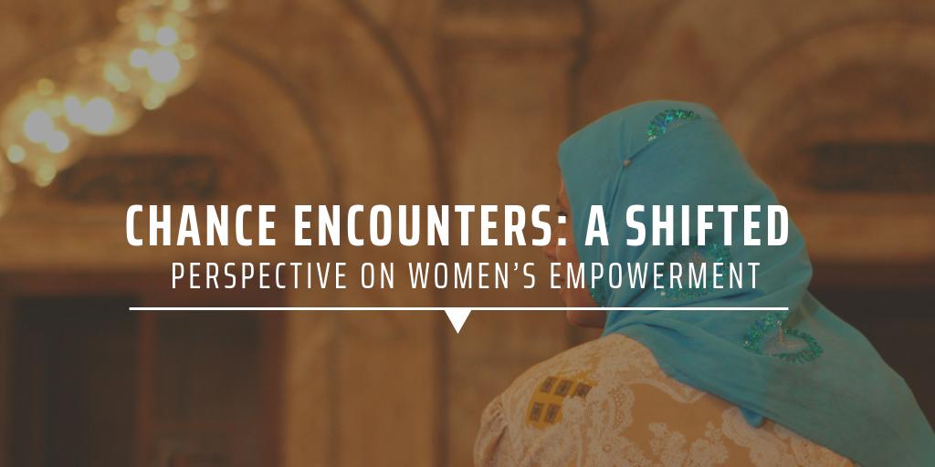 Volunteering with women's empowerment