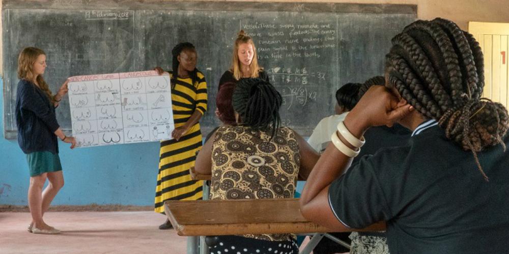 volunteer work in zambia