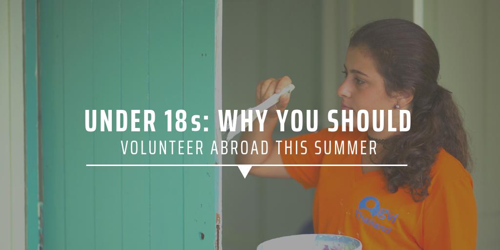 volunteering abroad under 18