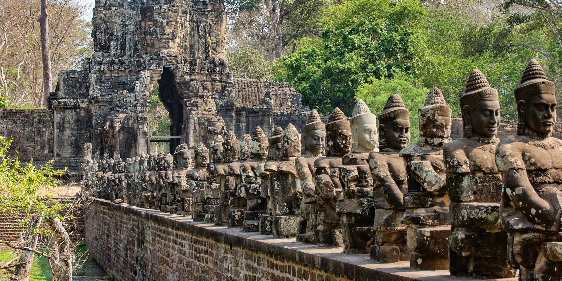 visit Angkor Wat