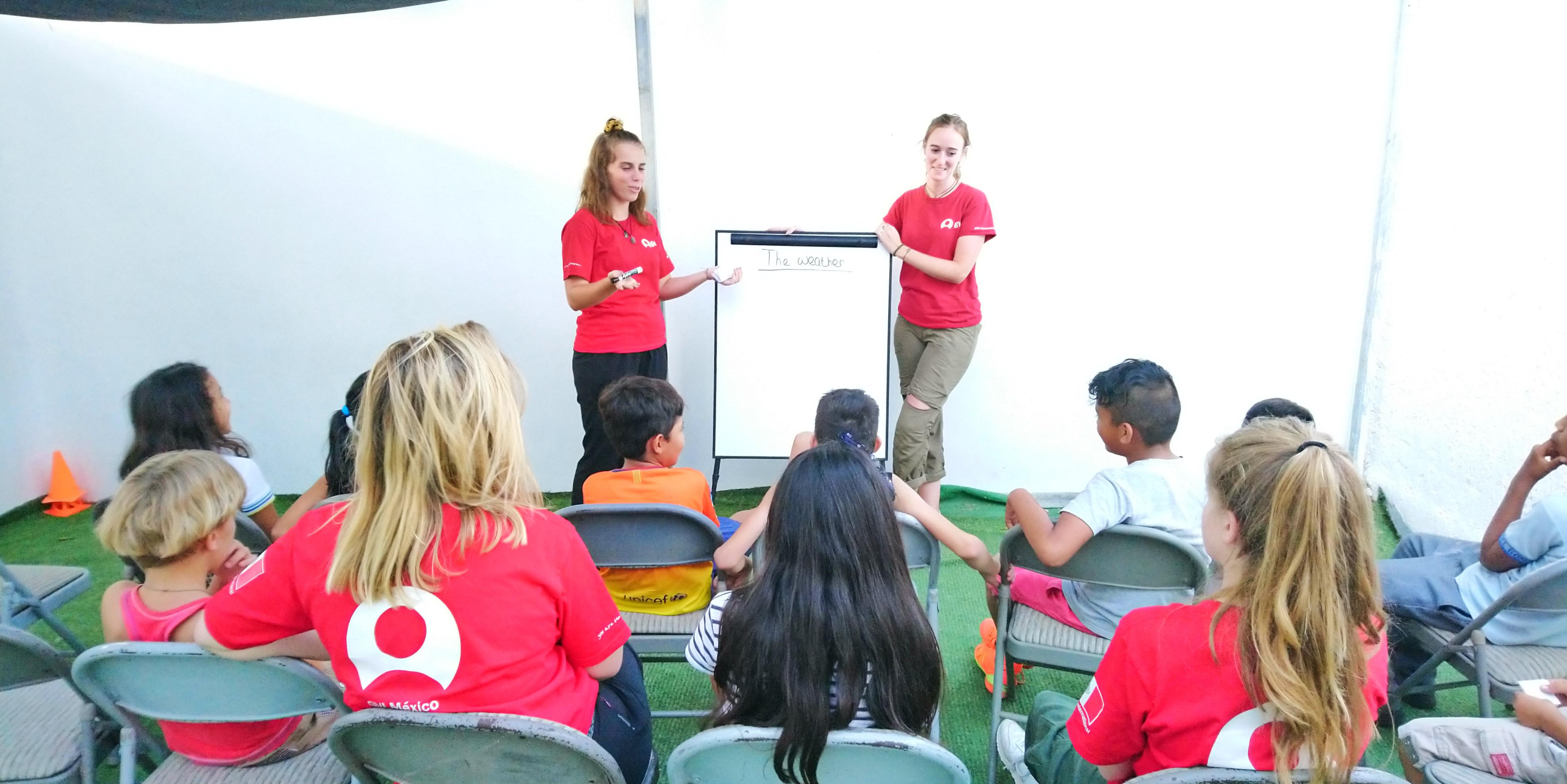 volunteer in puerto morelos