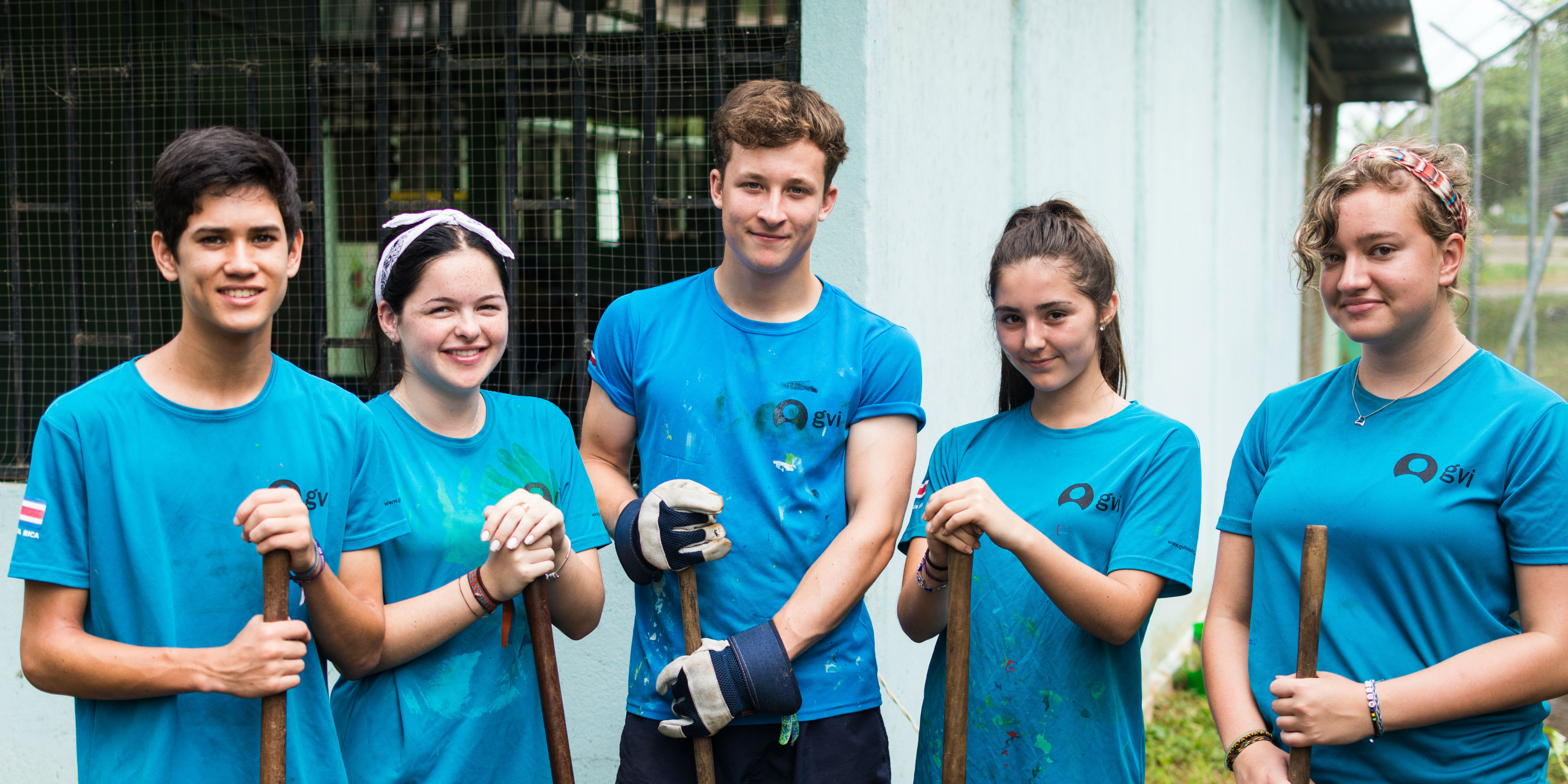 Volunteer trips for teens might include difficult or dirty tasks like painting or digging. Make sure you plan well when considering what to pack for a school trip abroad.