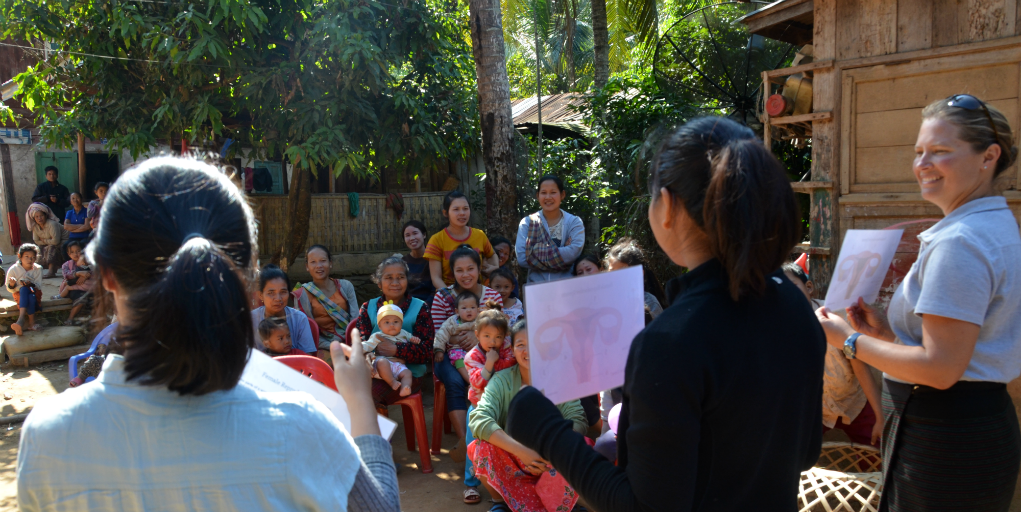 Taking a career break for personal development? You could work on women's empowerment workshops in Laos during your sabbatical.
