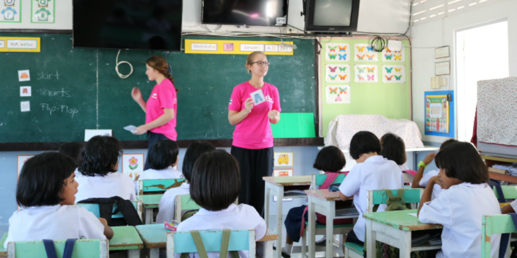 Teach english in Thailand with one of GVI's volunteer opportunities.