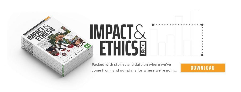 Impact and ethics banner