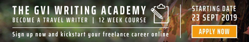 GVI Writing Academy. Kickstart your freeelance career online.