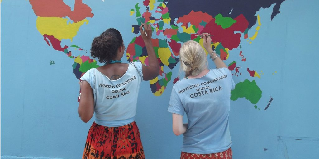 GVI volunteers from all around the world come together to make an impact
