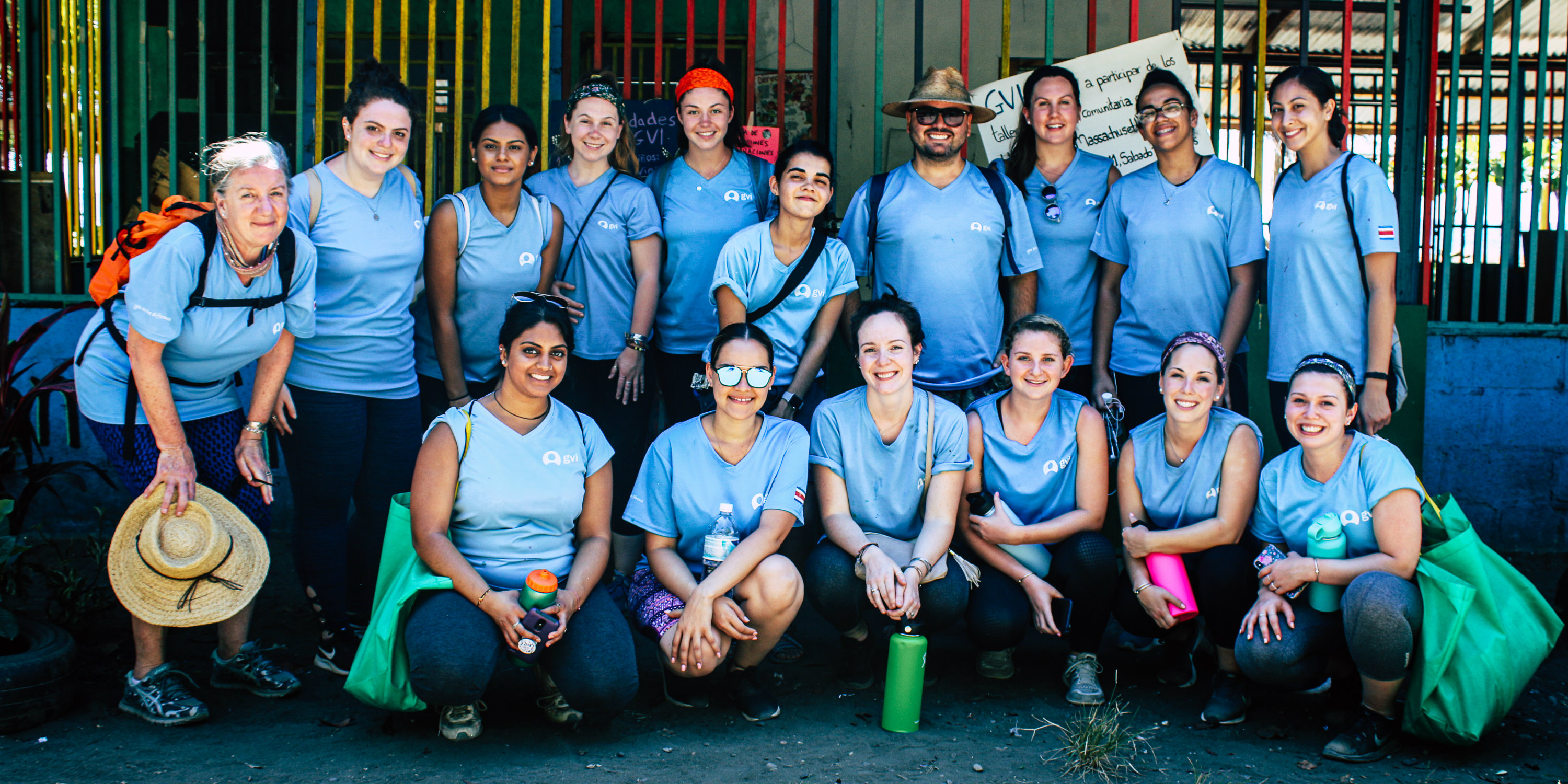 While taking a gap year, GVI participants enjoy the town of Quepos and its surrounds.