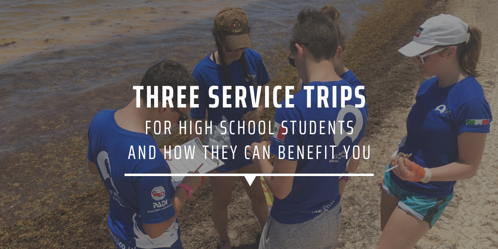 Three service trips for high school students and how they can benefit you