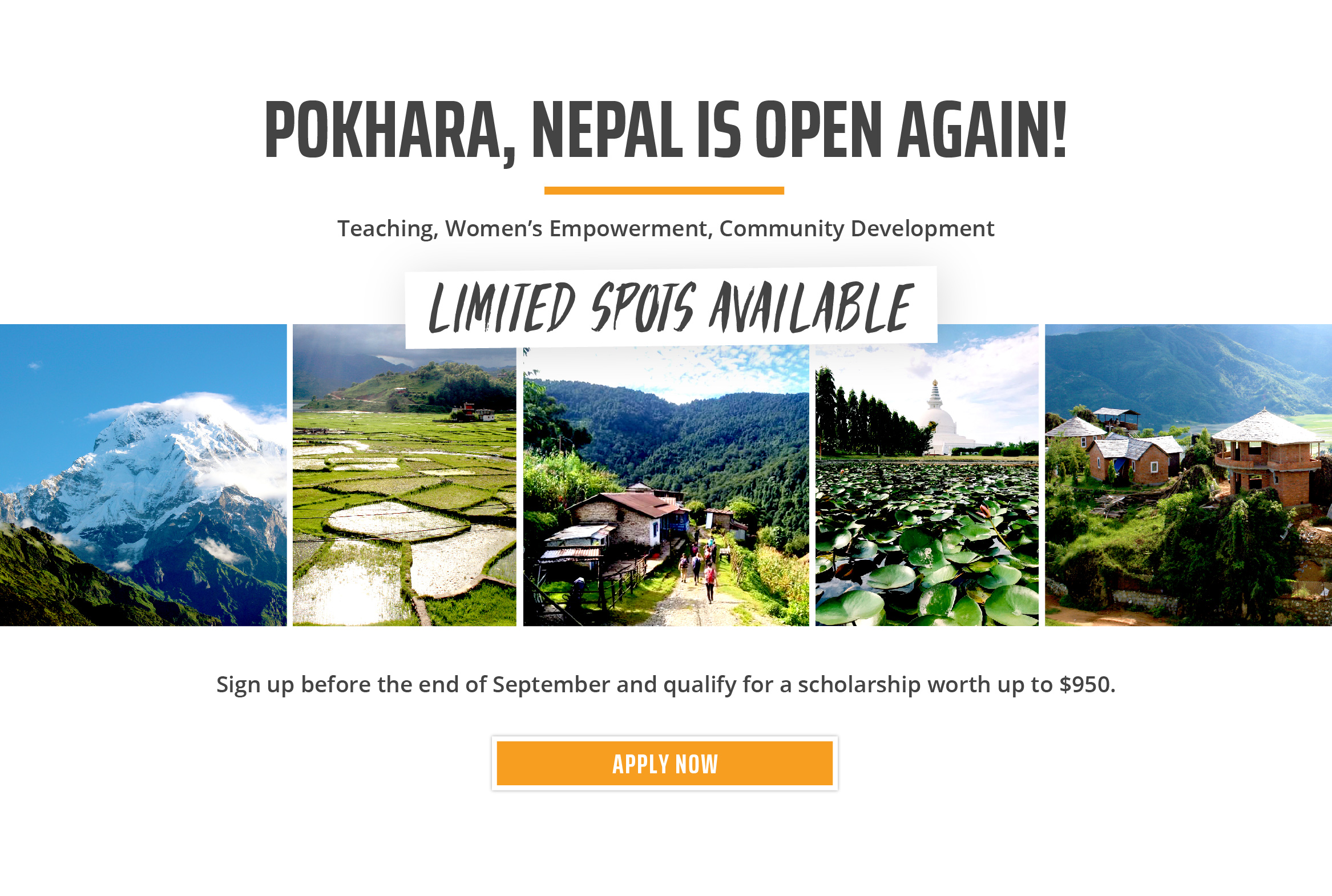 AUS/CAN Nepal Reopening