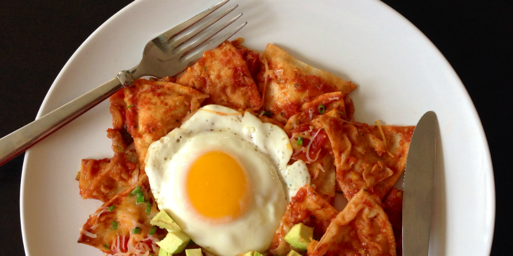 Enjoy a plate full of Chilaquiles when you volunteer and travel in Mexico