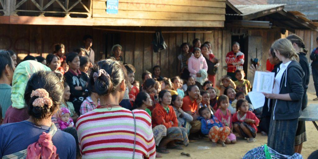 GVI's community development program in Laos.