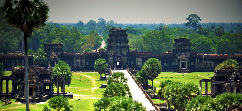 """Angkor wat, off season"" by Stig Berge is marked with CC0 1.0"