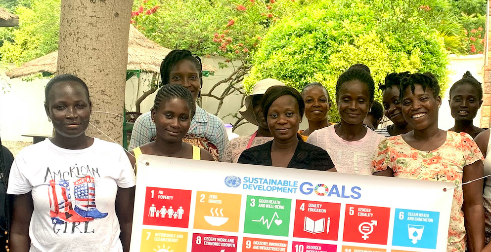 Ladies part of GVIs women empowerment projects highlighting the UNs sustainable development goals