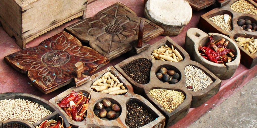 Kerala spices used in Kerala cooking