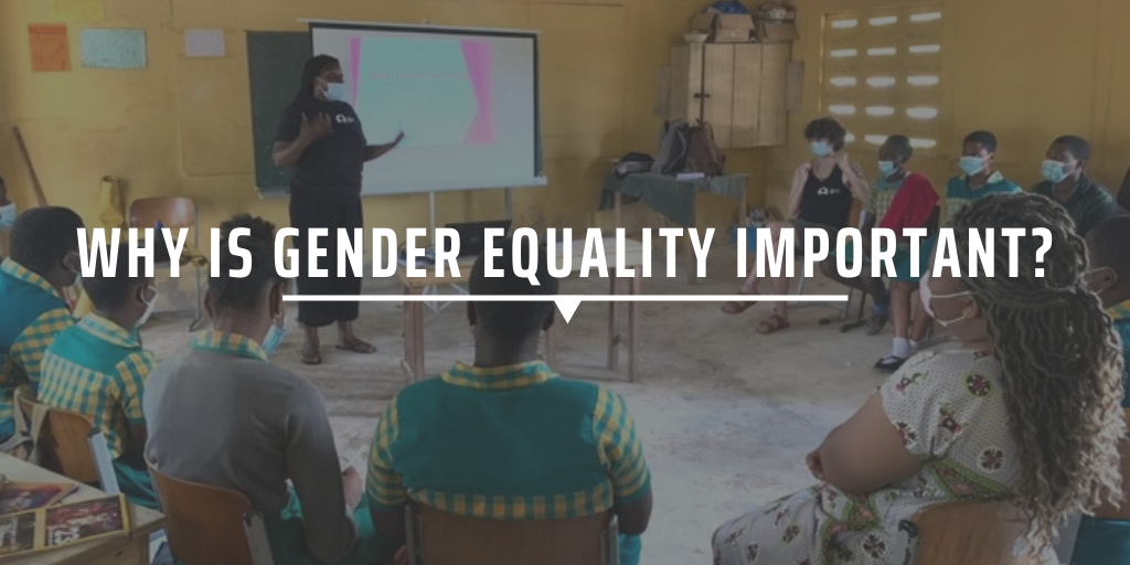 Why is gender equality important?